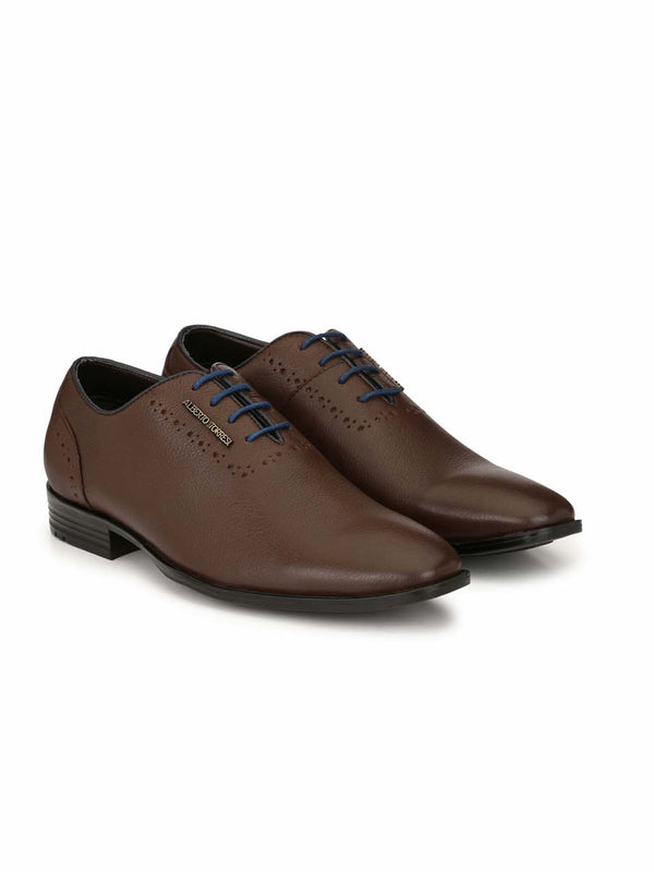 Alberto Torresi Aldo Brown Formal Shoes