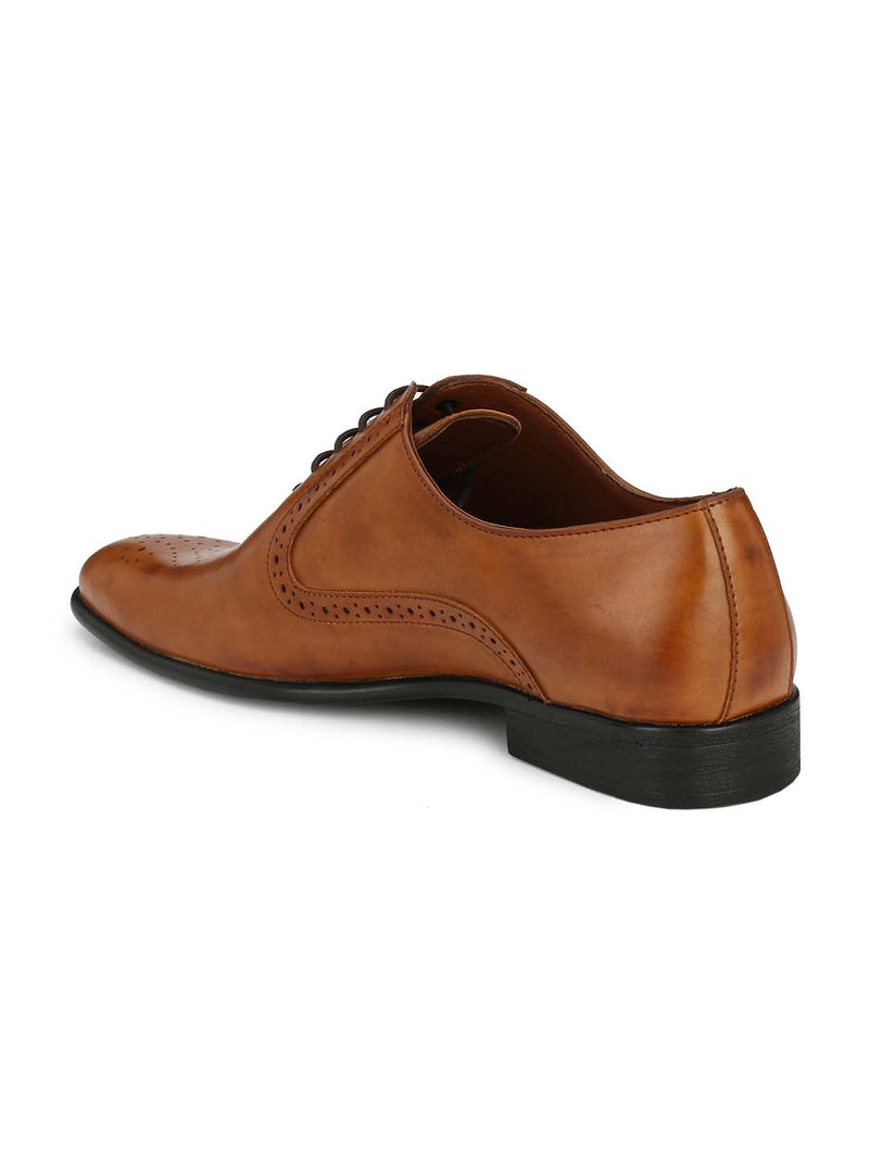Alberto Torresi Men Terceira Tan Shoes