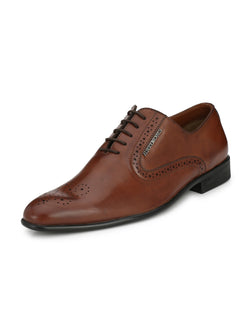 Alberto Torresi Men Terceira Brown Shoes