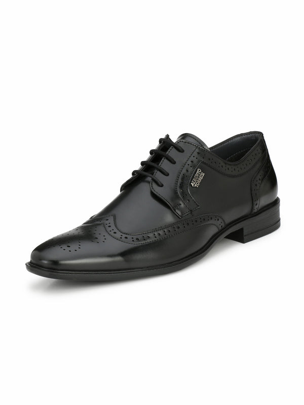 Alberto Torresi Men Teresa Black Shoes