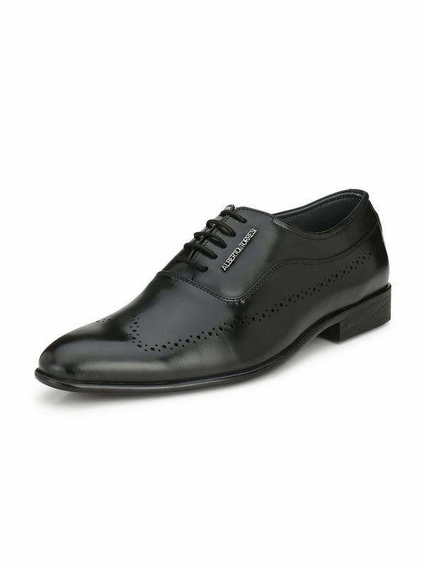 Alberto Torresi Men Teyo Black Shoes