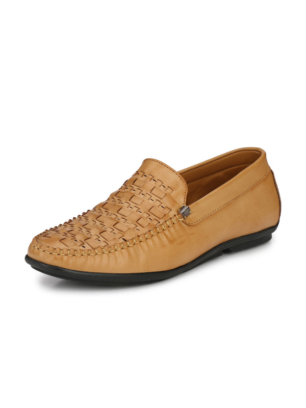 Alberto Torresi Men Tavio Beige Shoes