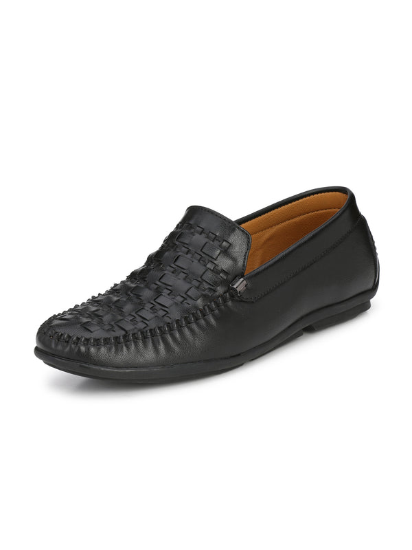 Alberto Torresi Men Tavio Black Shoes