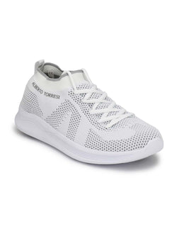 Alberto Torresi Men'S Miles White Sneakers