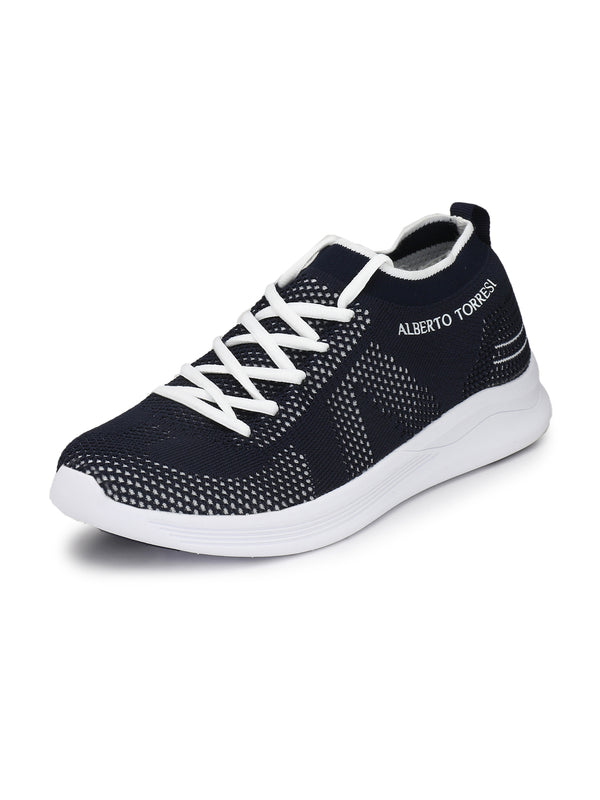 Alberto Torresi Men's Miles Navy Shoes