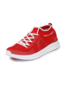 Alberto Torresi Men'S Miles Red Sneakers