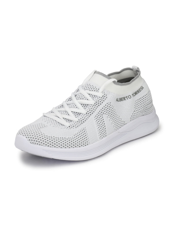 Alberto Torresi Men's Miles White Shoes