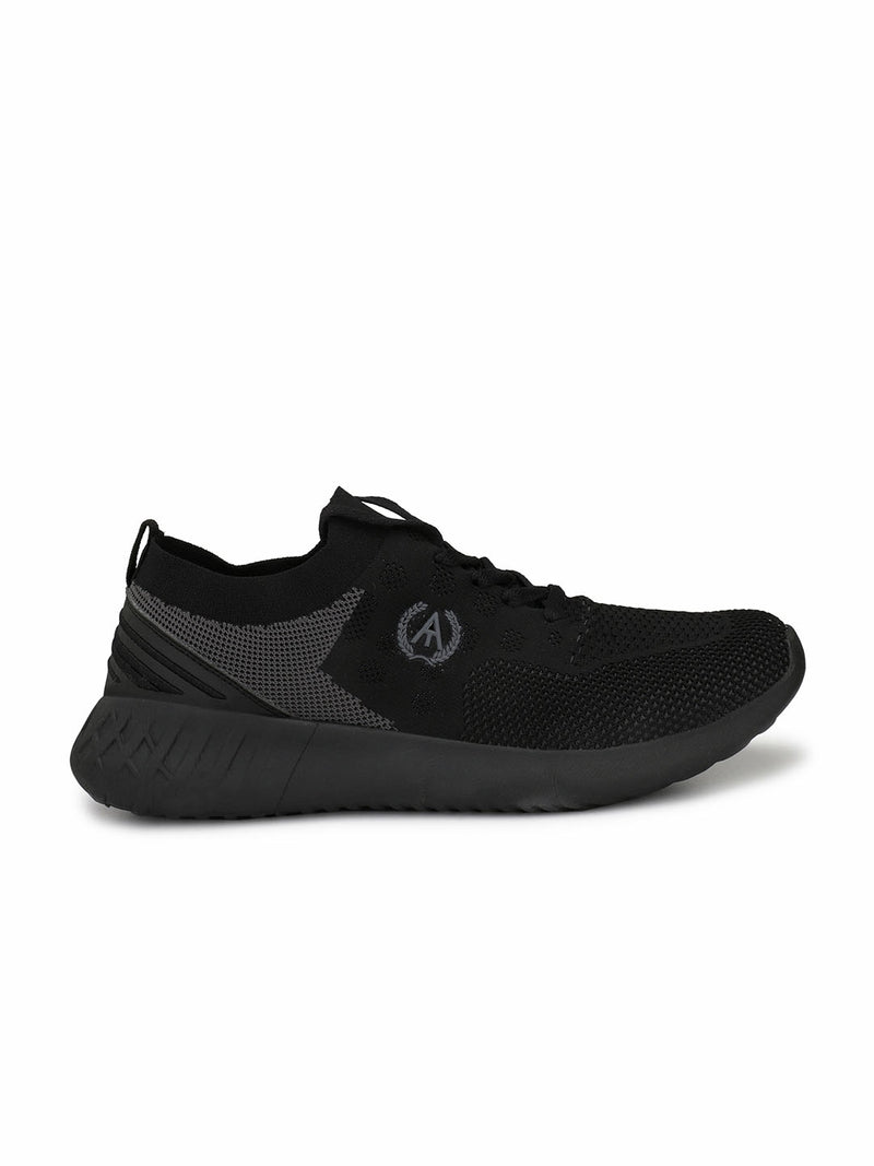 Alberto Torresi Men'S Timon Black Sneakers