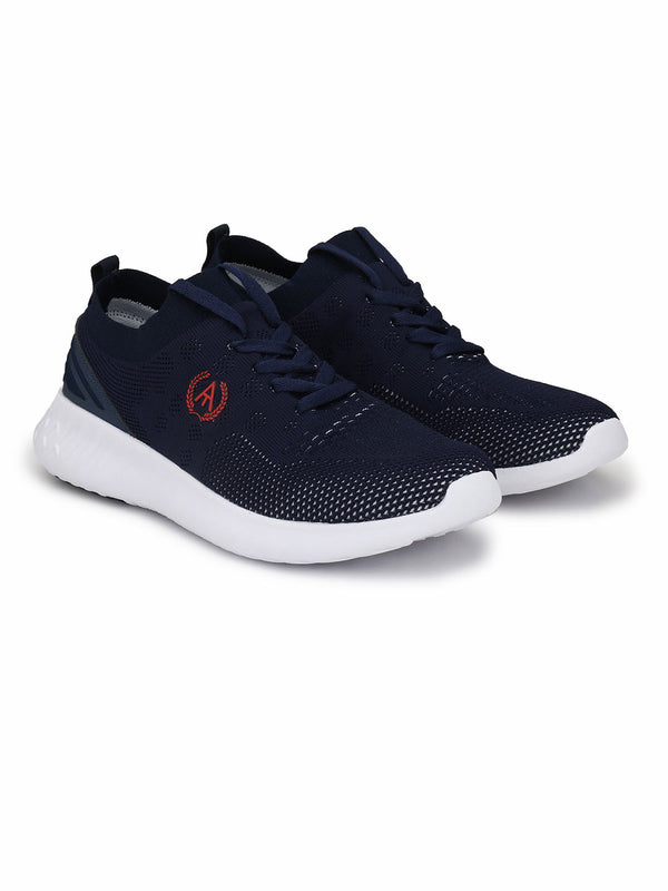 Alberto Torresi Men's Timon Navy Sneakers