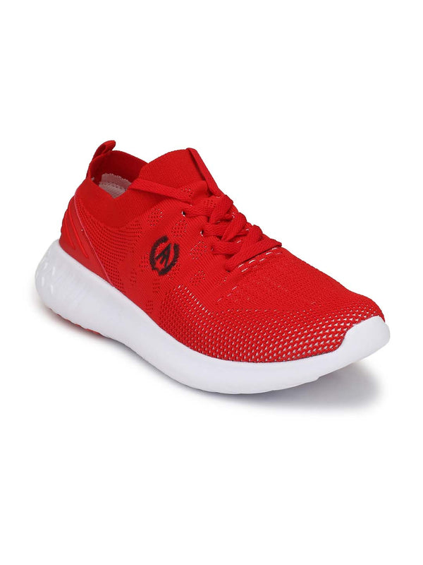 Alberto Torresi Men'S Timon Red Sneakers