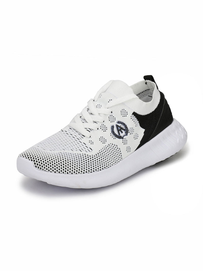 Alberto Torresi Men's Timon White Sneakers