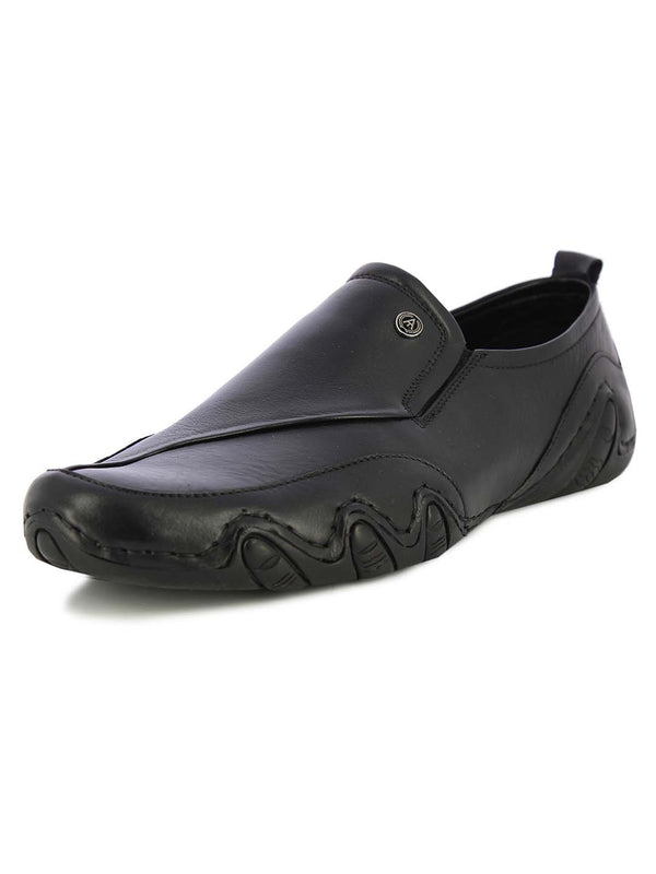 Alberto Torresi Mens Alfie Black Sports Slipon