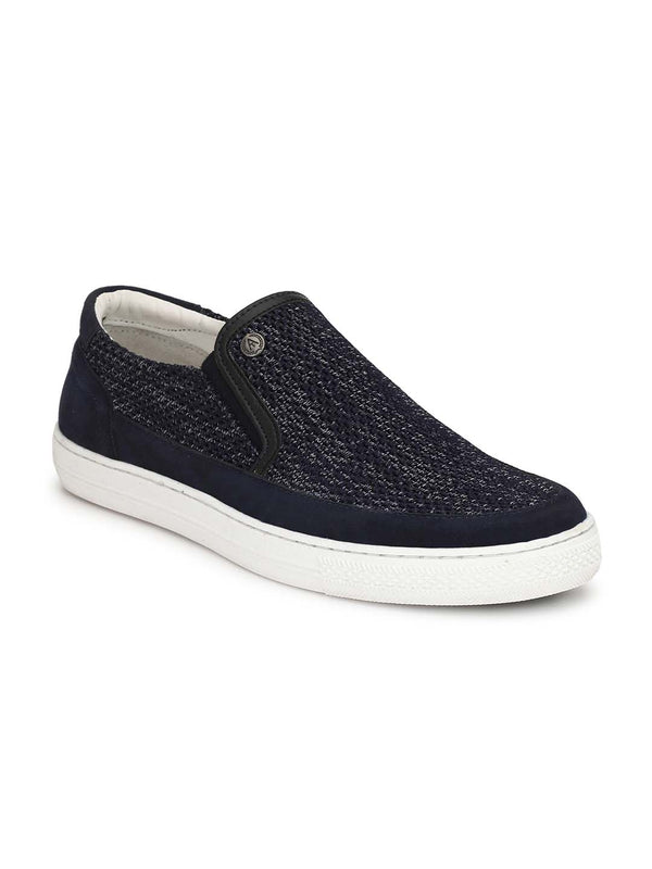 Alberto Torresi Men Cillian Blue Sneakers