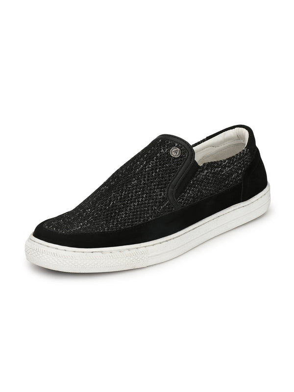 Alberto Torresi Men Cillian Black Sneakers