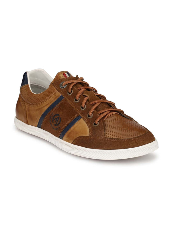 Alberto Torresi Men Jeff Tan Sneakers