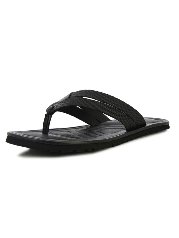 Alberto Torresi Men'S Black Casual Slippers