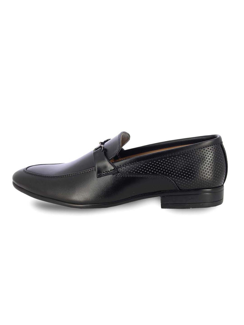 Alberto Torresi Men'S Callu Black Formal Shoes