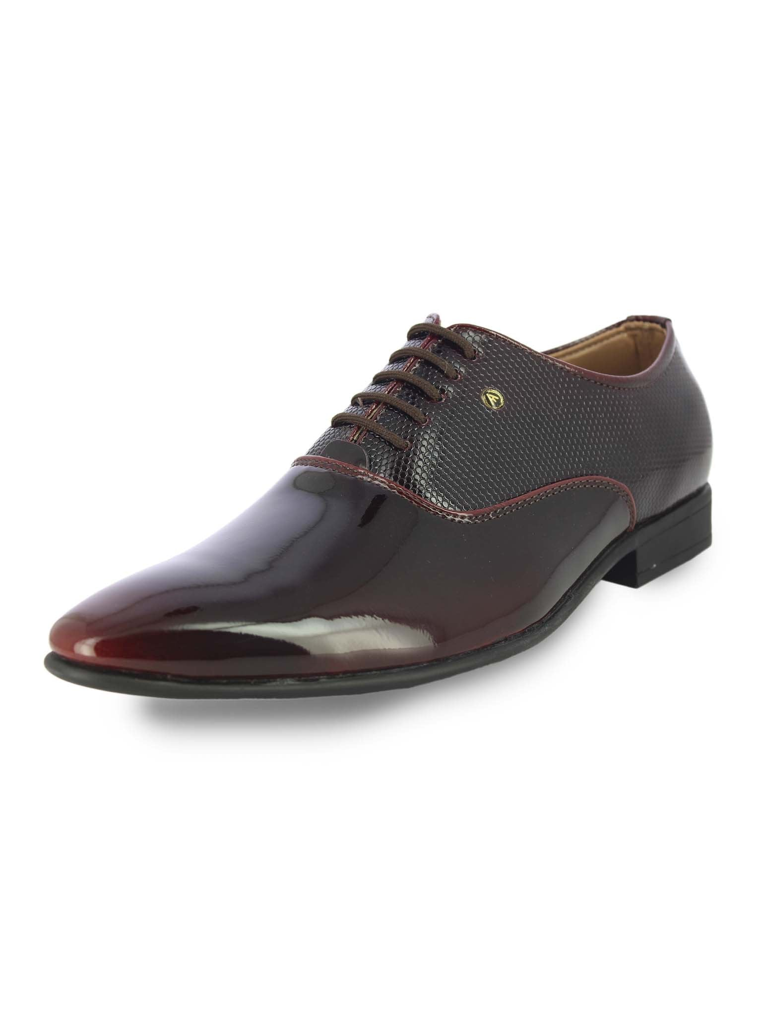 Alberto Torresi Men's Liam Cherry Formal Shoes