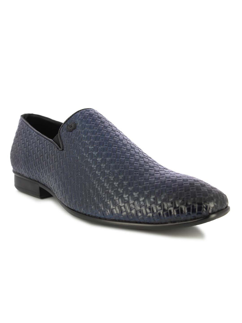 Alberto Torresi Men's Cormac blue formal shoes