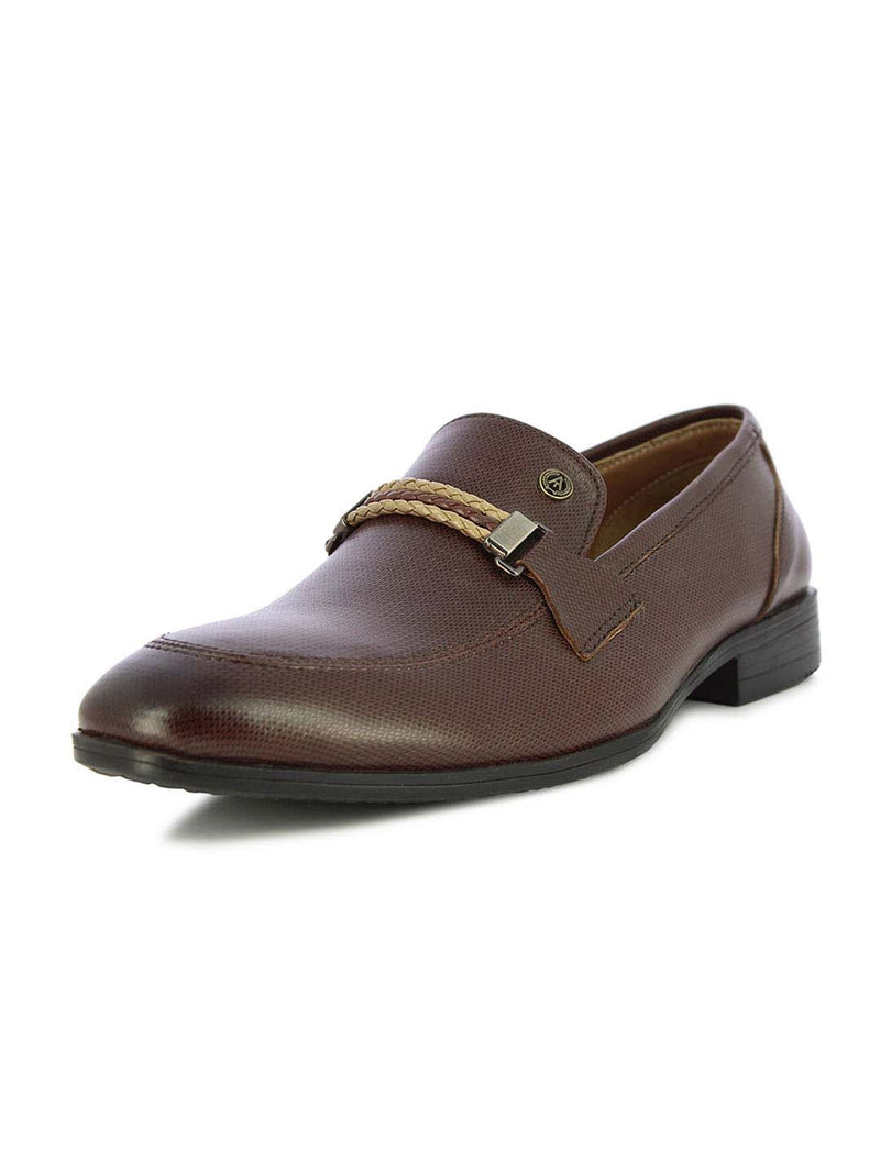 Alberto Torresi Men's Gellert Bordo Formal Slip On Shoes