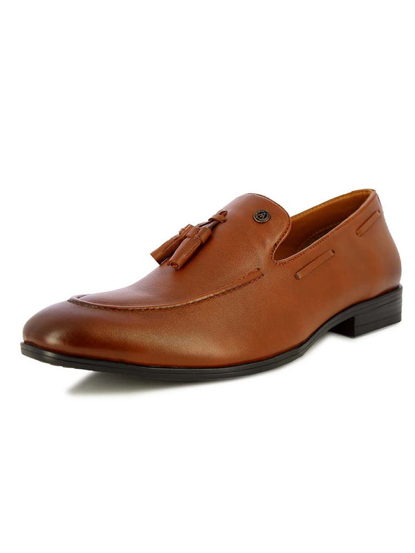 Alberto Torresi Men''s Edmun Tan tassel formal shoes