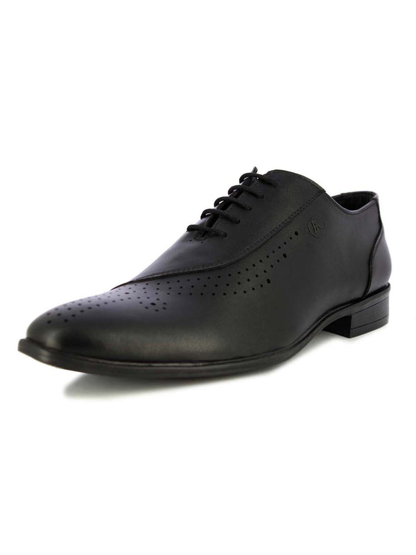 Alberto Torresi Men's Darwin Black formal lace up shoes