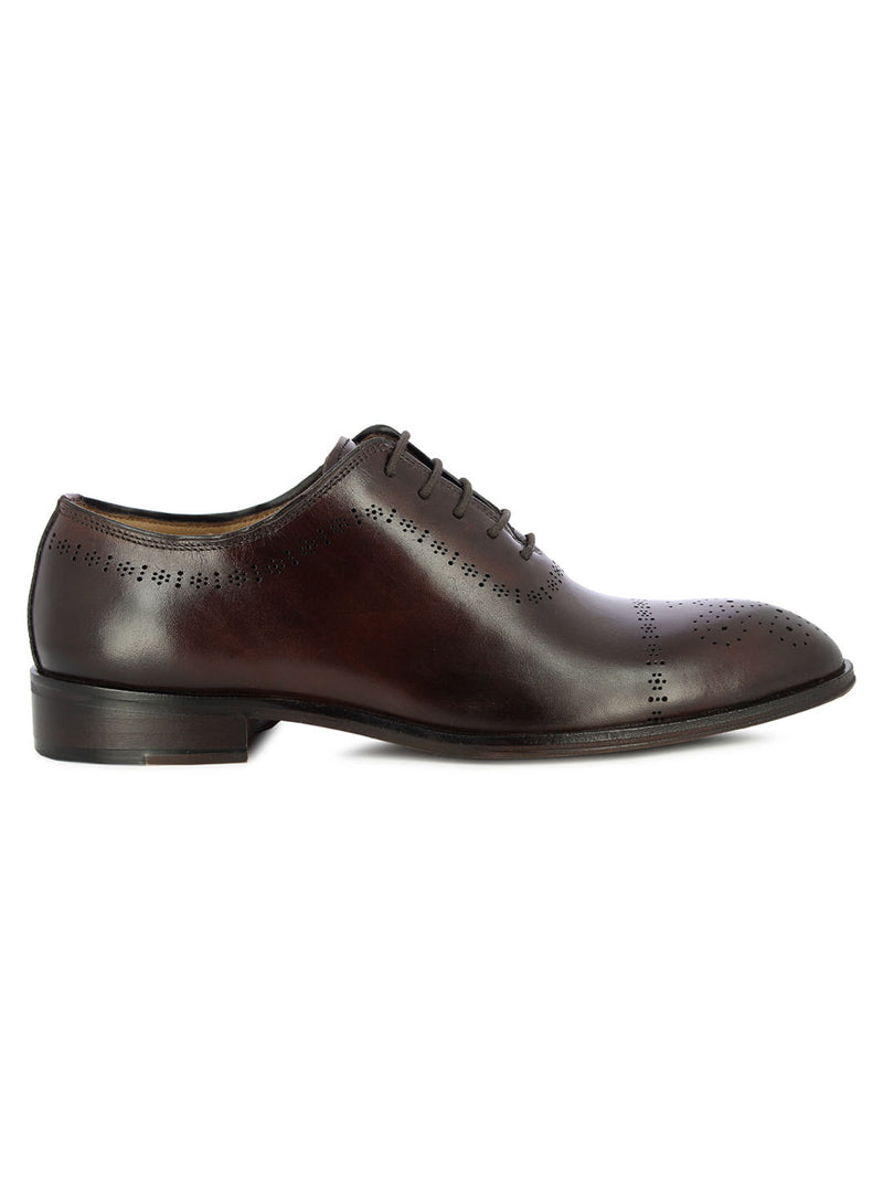 Boron Tan Formal Shoes