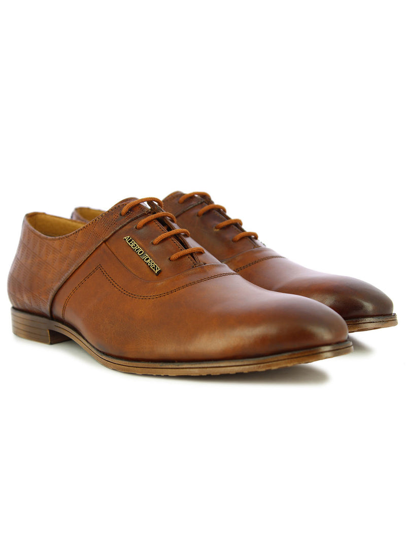 Alberto Torresi Men's Tan formal shoes