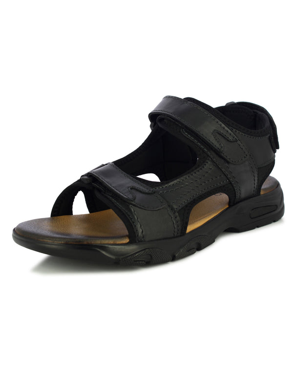 Alberto Torresi Black Men's Flavio Floaters