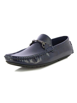 Alberto Torresi Men's Oryol Blue Loafers