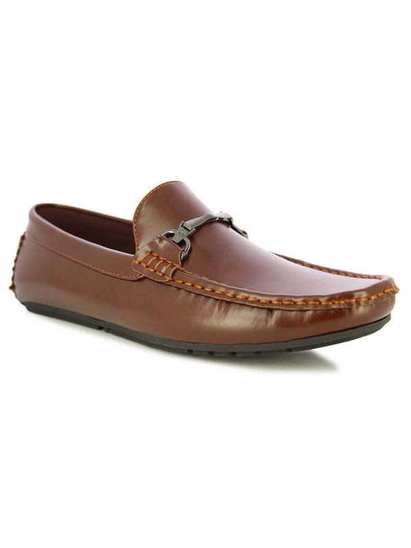 Alberto Torresi Men's Oryol Brown Loafers