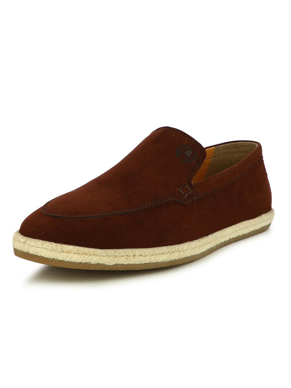 Alberto Torresi Men Hoston Brown Casual Slip-ons