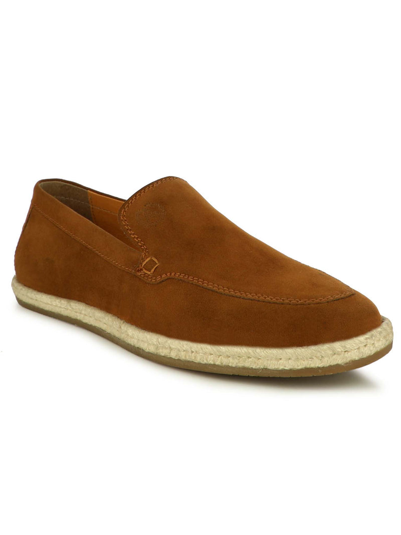 Alberto Torresi Men's Hoston Tan Casual Slip-ons