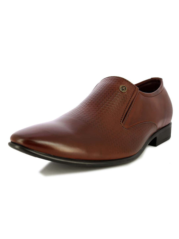 Alberto Torresi Men's Artwin Brown Formal Shoes