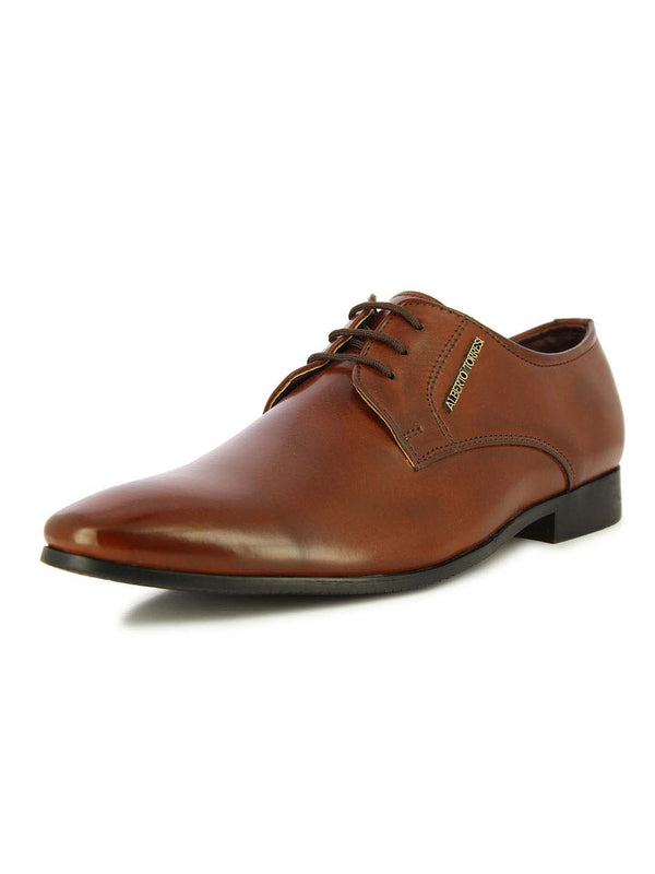 Alberto Torresi Men's Colmar Brown Oxford Shoes