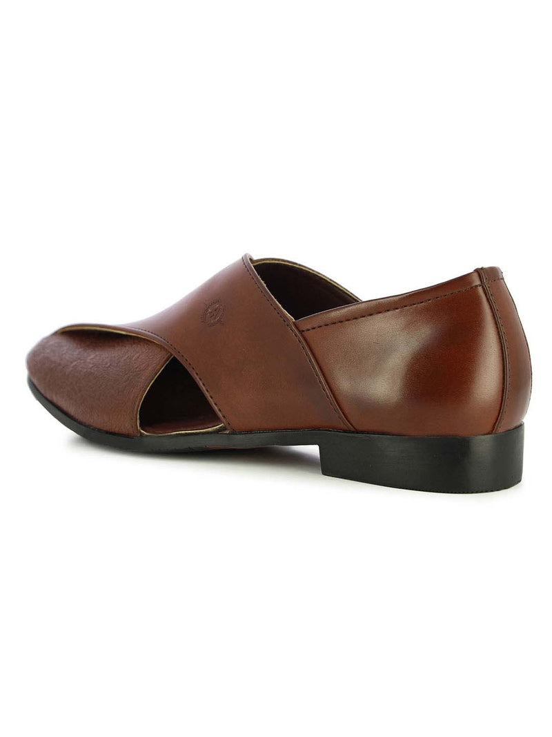 Alberto Torresi Men's Alattio Brown Sandals