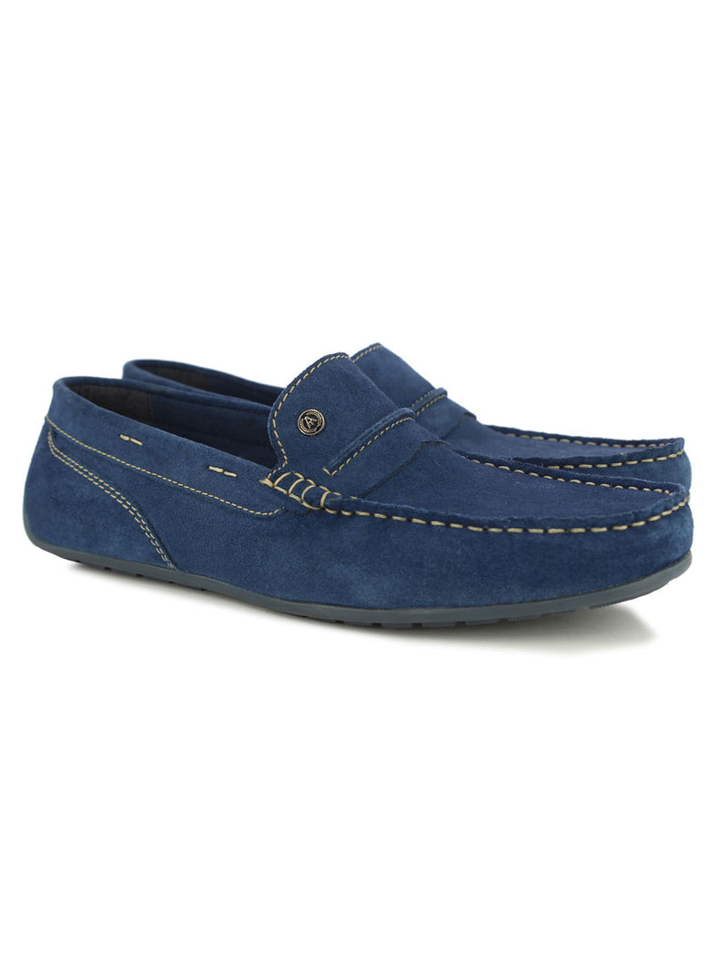 Alberto Torresi Wilton Blue Loafers