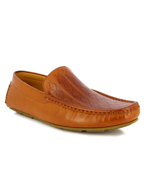 Alberto Torresi Men's Volos Camel casual Loafers
