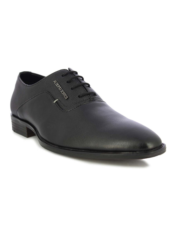 Alberto Torresi Men's Black Lace Shoe