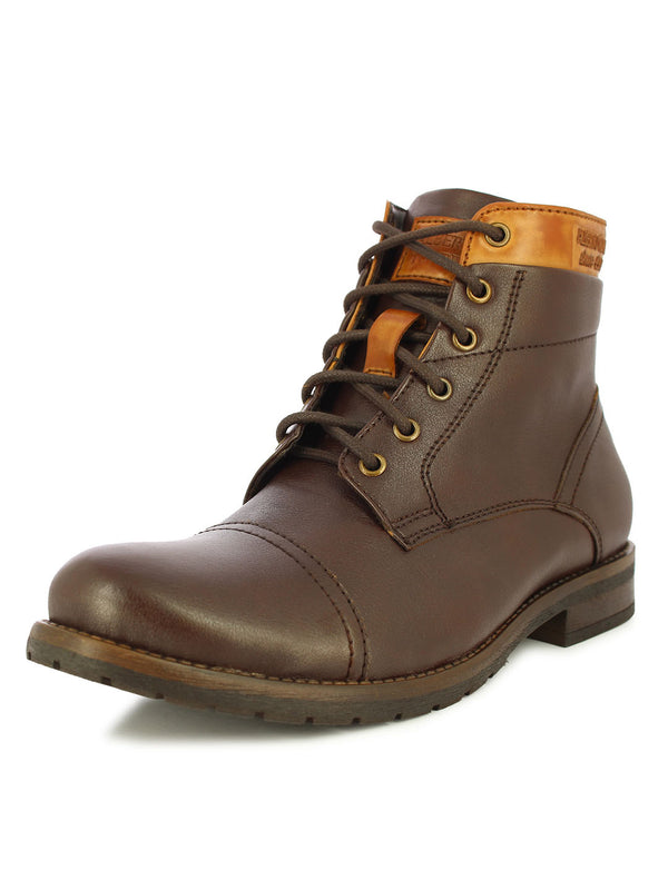 Alberto Torresi Men's Verell Brown and Tan Boots