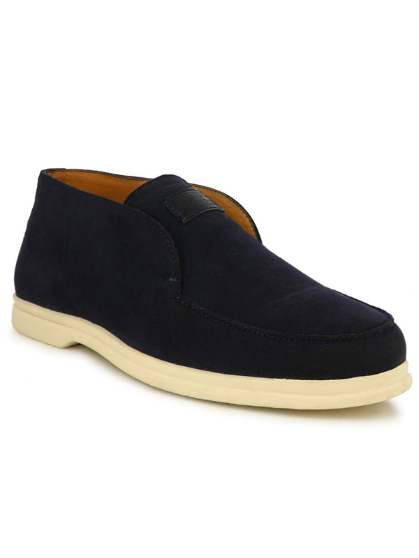 Alberto Torresi Men Hoston Navy Casual Slip-ons