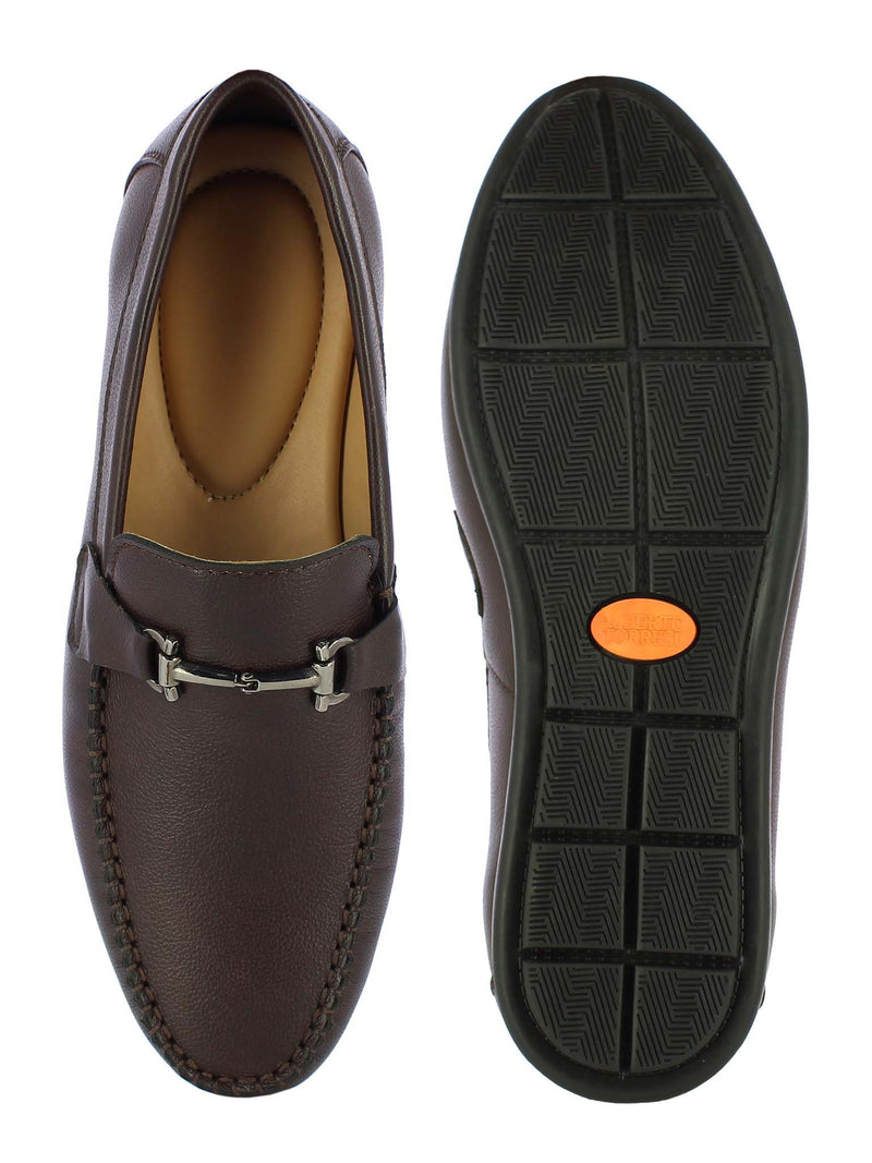 Alberto Torresi Men's Brown Loafers