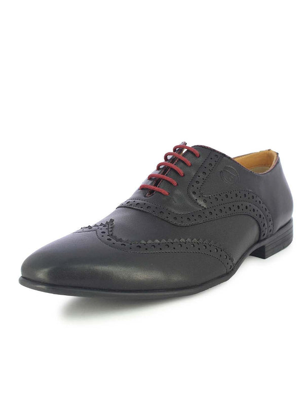 Alberto Torresi Men's Delray Black Brogues