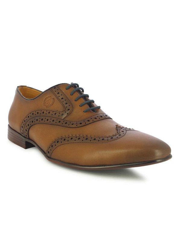 Alberto Torresi Men's Delray Tan Brogues