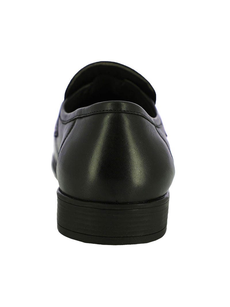 Patras Men's Black Formal Slip-Ons