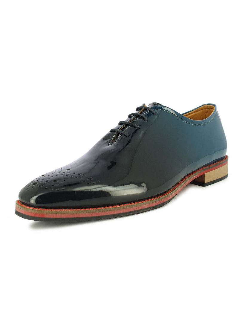 Alberto Torresi Florence Blue Wingtip Oxford Shoes
