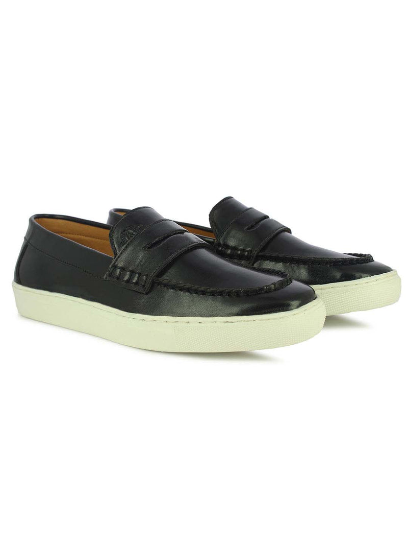 Alberto Torresi Rob Black Men's Casual Loafers
