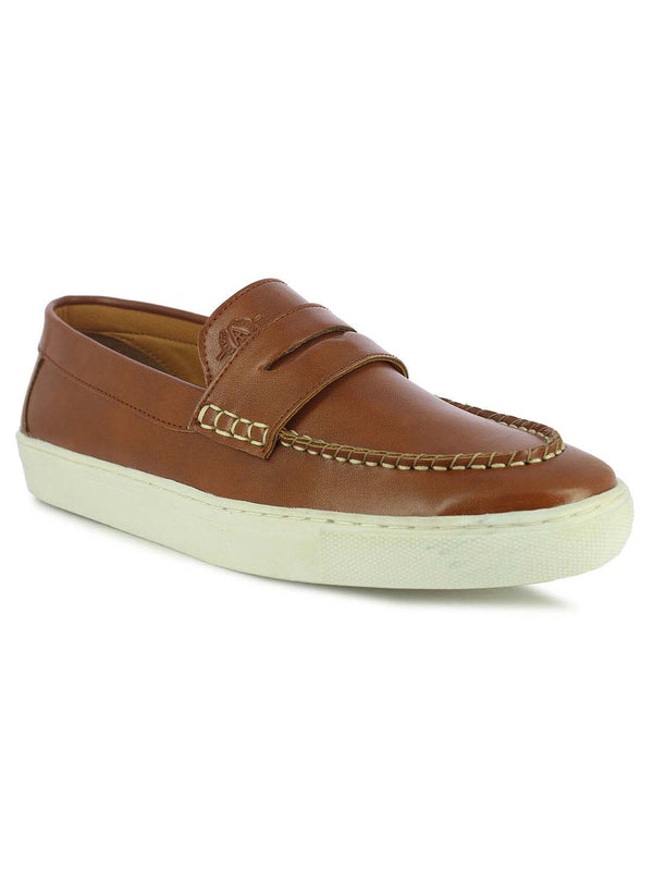 Alberto Torresi Rob Tan Men's Casual Loafers