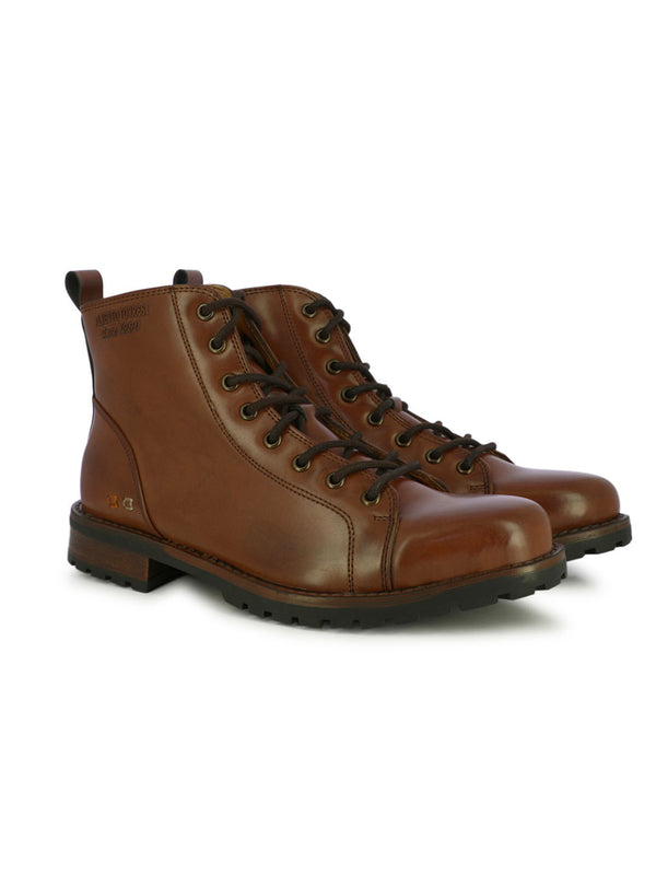 Alberto Torresi Men's Calgary Brown Boots