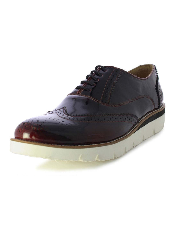 Alberto Torresi Bordeaux Men's Sneaker Brogues